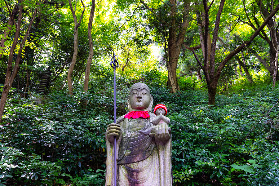 Mizuko Jizo Statue